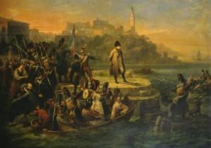 napoleone in partenza
