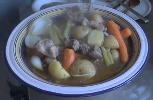 piatto pecora bollita